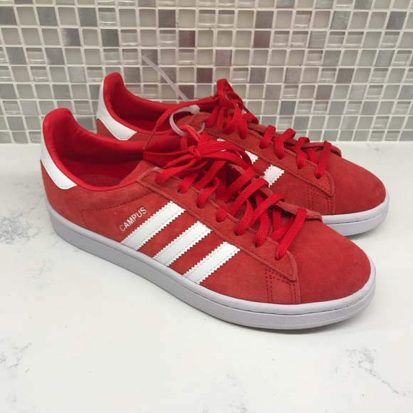 more photos 39598 90fba ... buying cheap adidas Shoes Campus Red Size 65 Poshmark 26c73 87c3d ...